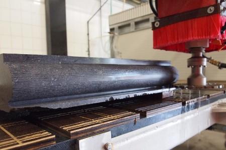5 Achsen Drehkopf Brückensäge QUBO-T Profilfräsen mit Konus ISO 40