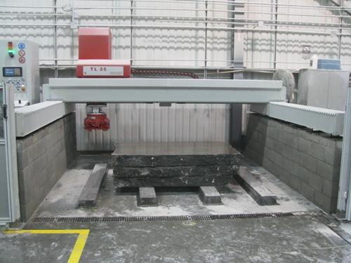 Flächenschleifmaschinen TL 35 Granit