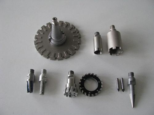 Diamantwerkzeuge für Konus ISO 40